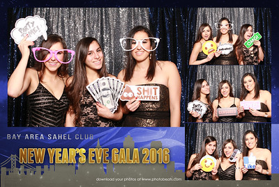 2016 Bay Area Sahel Club NYE Gala