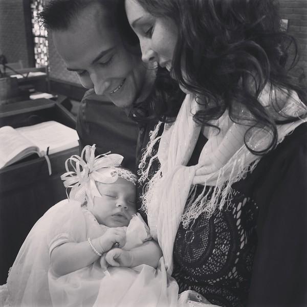 Autumn Elizabeth's Baptism 02.13.16
