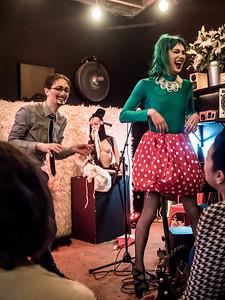 At the ShayShay Show, Limewharf, December 2016