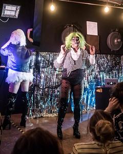 At the ShayShay Show, Limewharf, October 2016