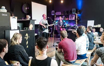 At the ShayShay Show, Limewharf, July 2016