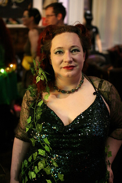 40s Poison Ivy at Alex's Party