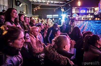 At the ShayShay Show, Limewharf, January 2017