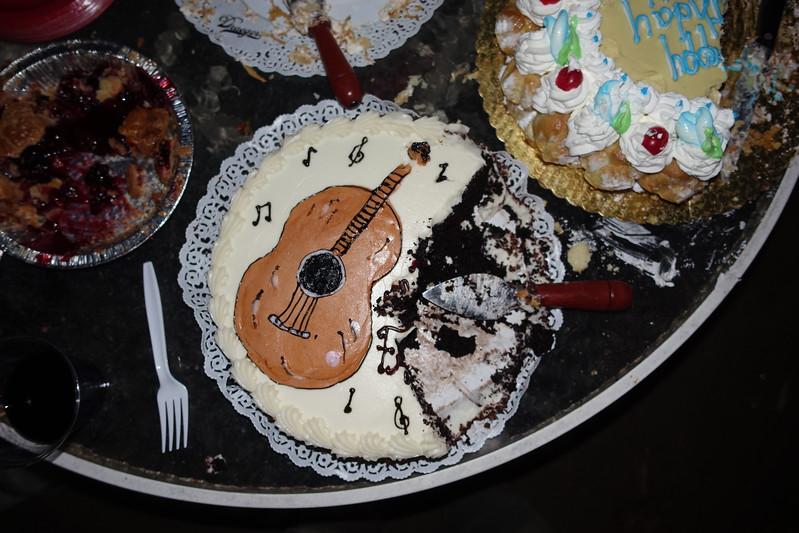 Birthday cake - Freddy Clarke birthday party