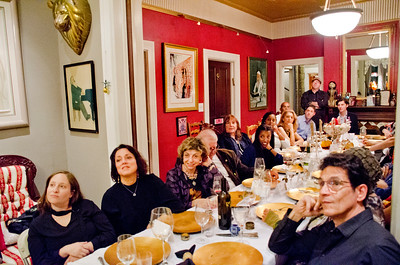 "Sheila Ash dinner party for ""Home Hospitality Opportunities: Leadership Development in Israel"""
