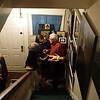 Robert Flynn Johnson's holiday party at his home