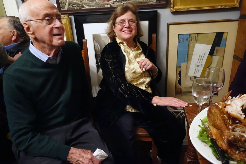 Robert Flynn Johnson's holiday party at his home