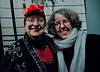 2018.01.27_Larissa Archer birthday party - Masha Archer, left; Eva Strauaa Rosen, right