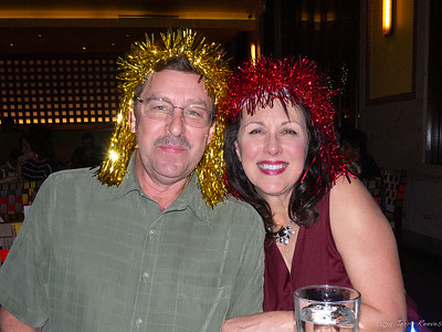 Gary and Donna after a few too many margaritas!