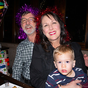 Donna the party planner with Jerry and Tripp
