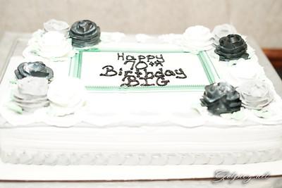 BIG 70th Birthday Party
