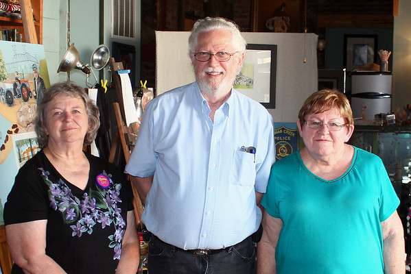 Deanna Chism, Roger Campbell, Trudy Casebeer