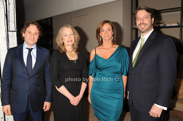 David Hryck, Cecily West, Marina Makanova, David Mason<br /> photo by Rob Rich © 2011 robwayne1@aol.com 516-676-3939