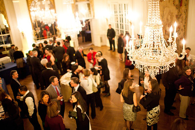 The Alliance Française Beaujolais Nouveau Party at the Washington Club on November 18th, 2011.