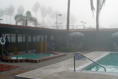 Foggy Morning Pool-p