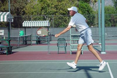 Steve Swinging Volley