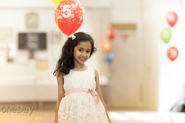 Aariana's 5th Party