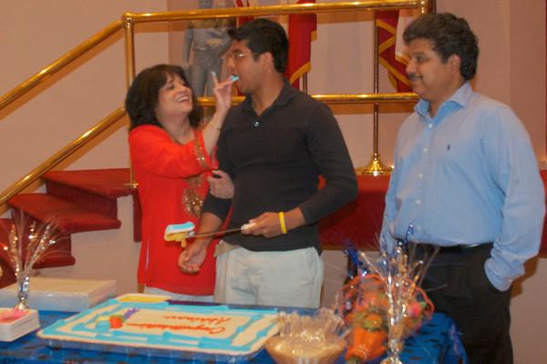 Abhinav Nair Graduation Party