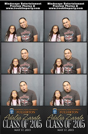 Adalia Zarate's College Graduation Party - Photo Booth Pictures