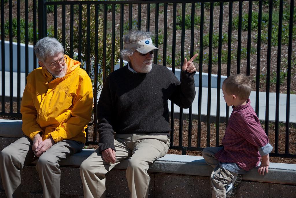 Alex checks in with Grandpa