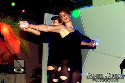 Atomic Trash at the Alien Dance Party at Space Gallery