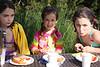 Amelia, Iris and Menta.