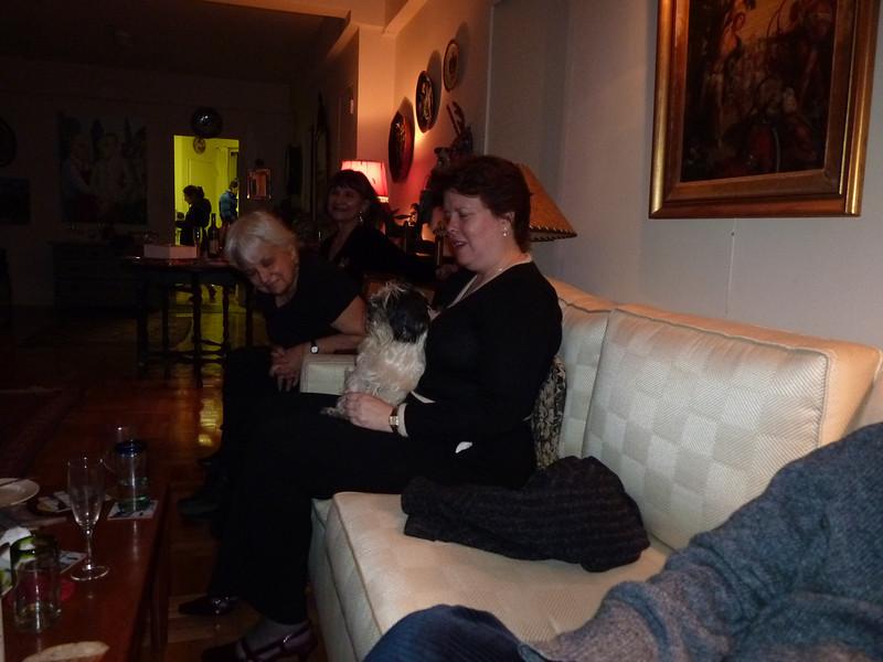 Lindsay Brooks with doggie