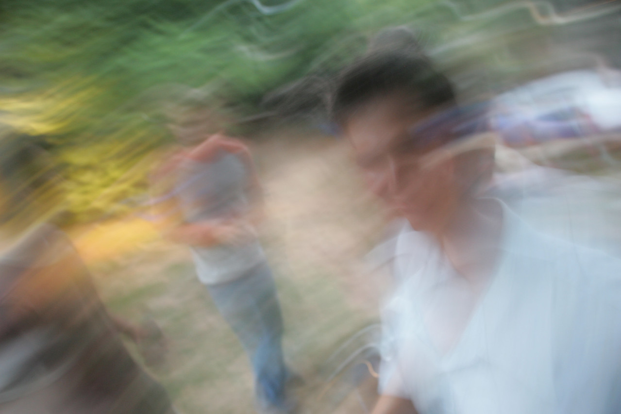 Beer blur. (It's artistical.)