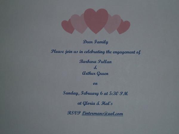 Art & Barb's Engagement Party