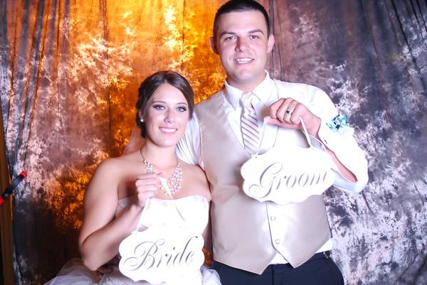 """Ashleigh and Kameron Wedding """"Photo Booth"""""""