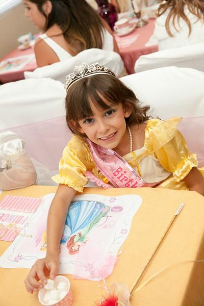Aubrie's Princess Tea Party