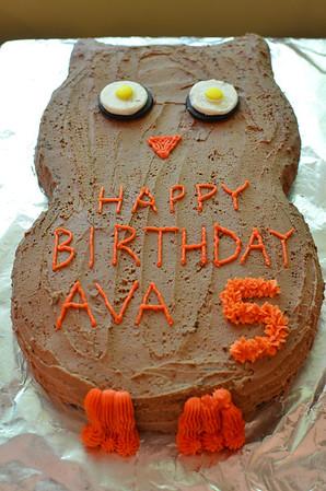 Ava's 5th Birthday