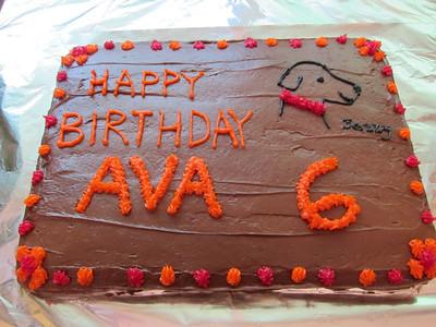 Ava's 6th Birthday
