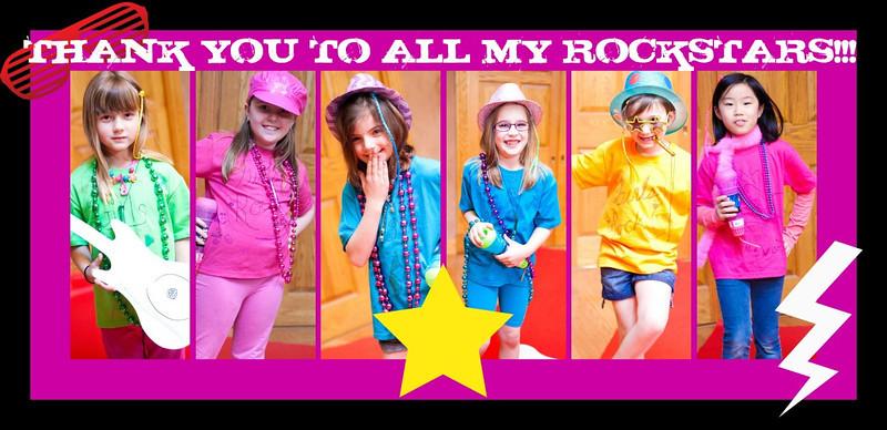 Ava's Rockin' Party 2012