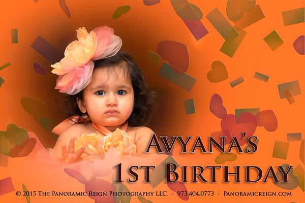 Avyana's 1st Birthday