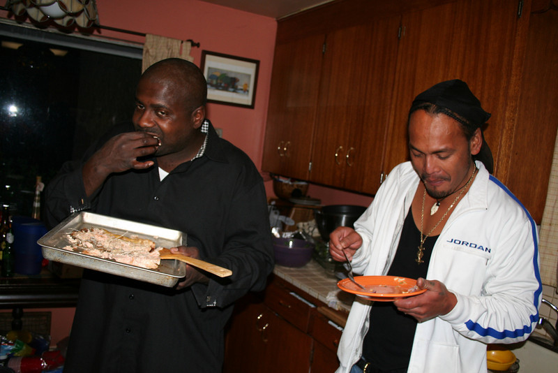 Tampa and Faone were hungry...
