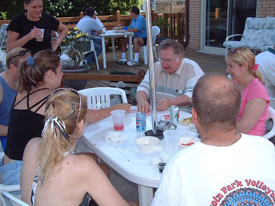 2005-6-18 Back Yard Party 00005