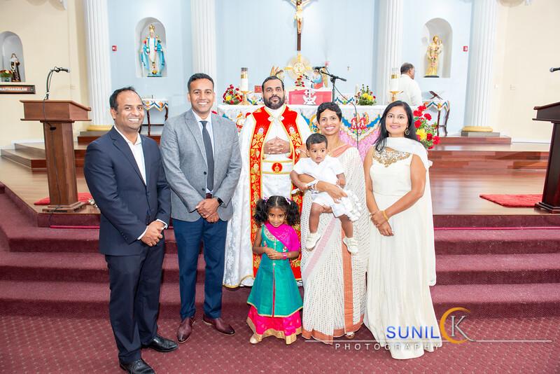 Levi Lukose Baptism