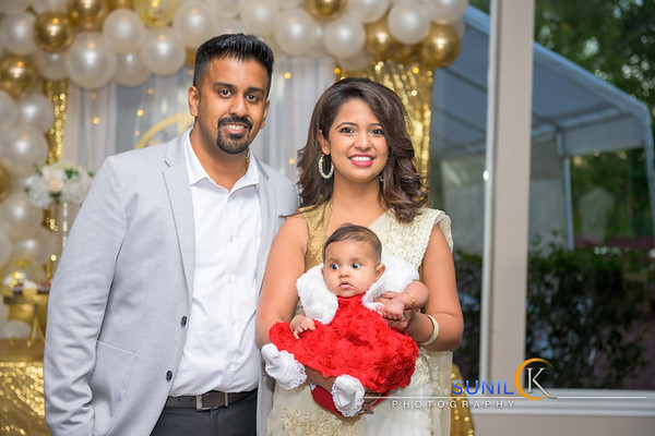 Zara Baptism Celebration