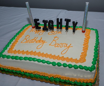 Barry's 80th Birthday Party March 11, 2018