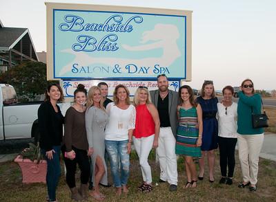 Beachside Bliss Salon & Day Spa Grand Opening on Nov. 18, 2016