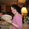 Me with my favorite food...the spanikopita!!!