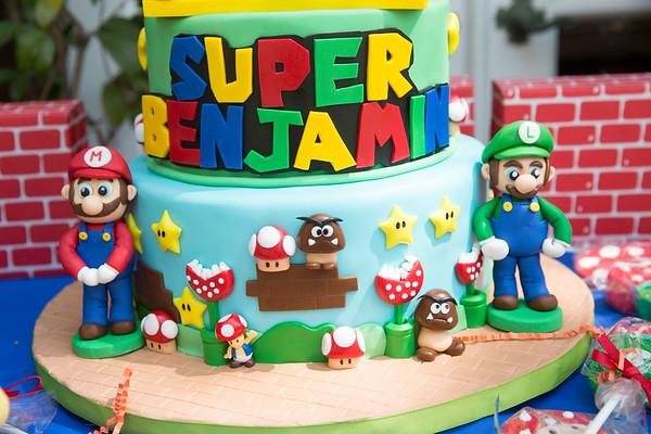 Benjamin 8th Birthday Party