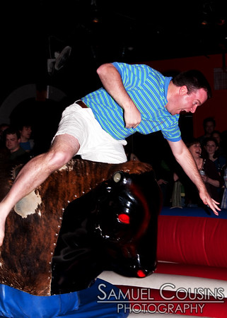 Bullriding at  Binga's