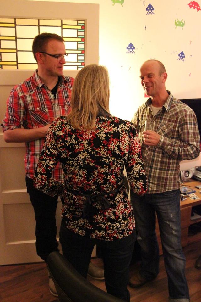 Sjoerd, Femke and Martin