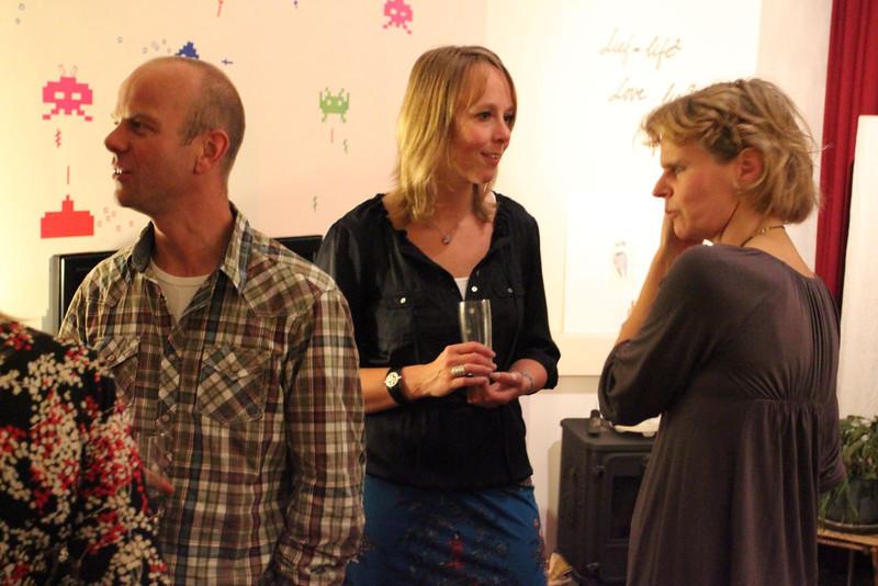 Martin, Anke and Astrid