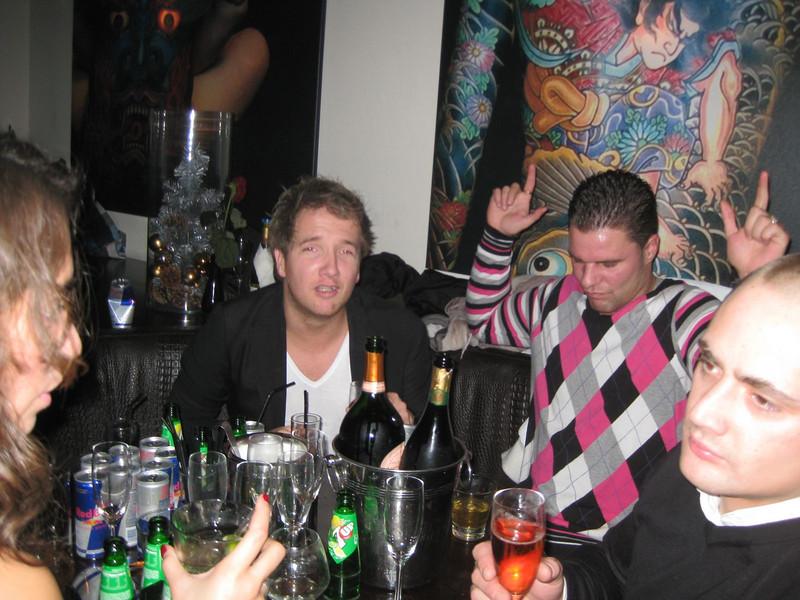 Rutger, Nick and Bram