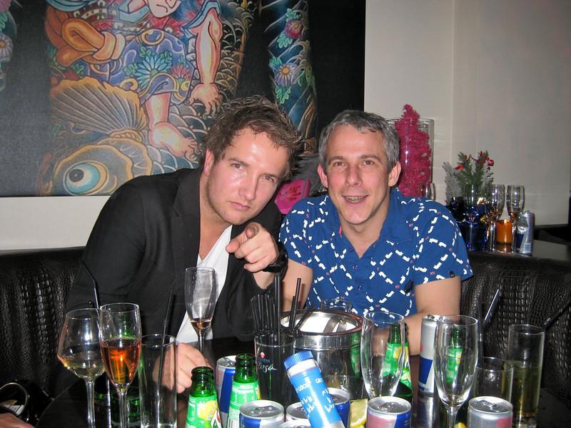 Rutger and I