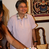 <center>Tita Narda getting ready to blow the candles</center>