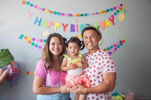 Kenzie's Two-tti Frutti Birthday